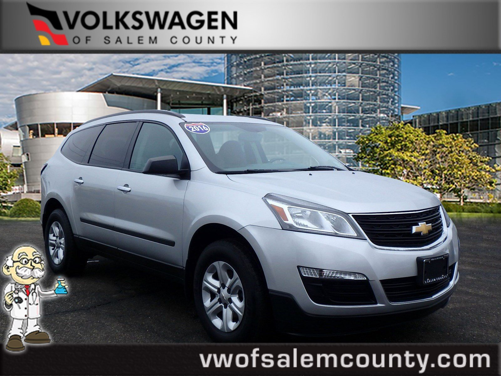 Pre Owned 2016 Chevrolet Traverse Ls Sport Utility In Monroeville