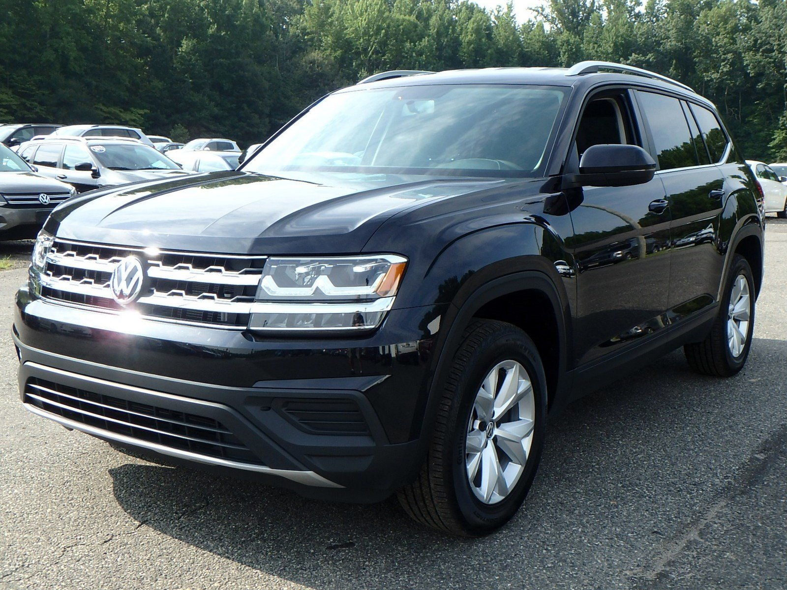 Certified Pre-Owned 2018 Volkswagen Atlas 3.6L V6 S
