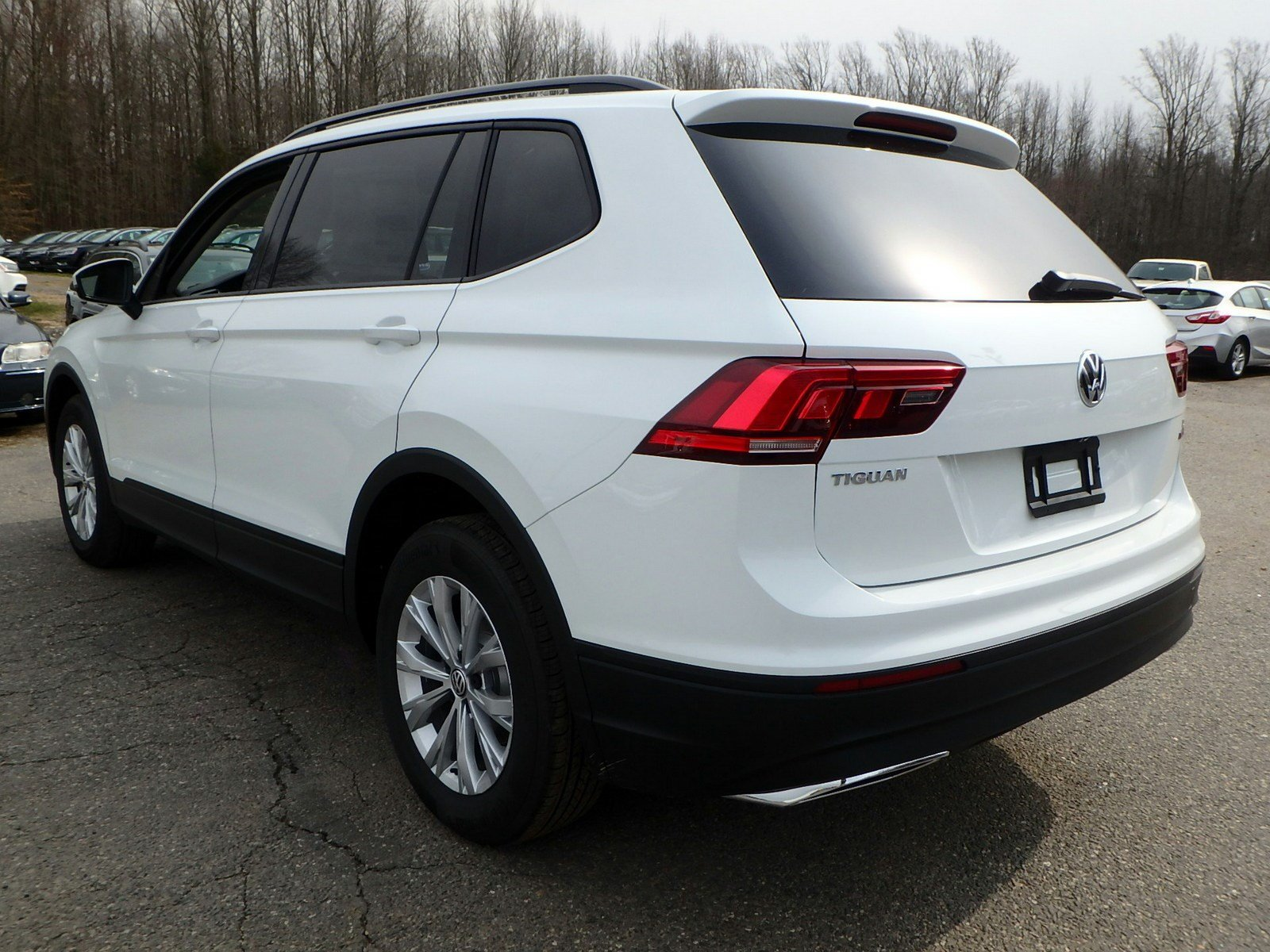 New 2018 Volkswagen Tiguan S with 4MOTION®