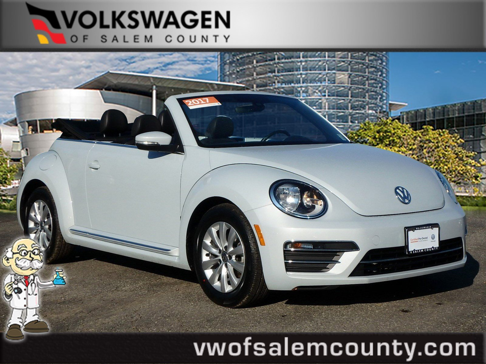 Certified Pre Owned 2017 Volkswagen Beetle Convertible 1 8t S