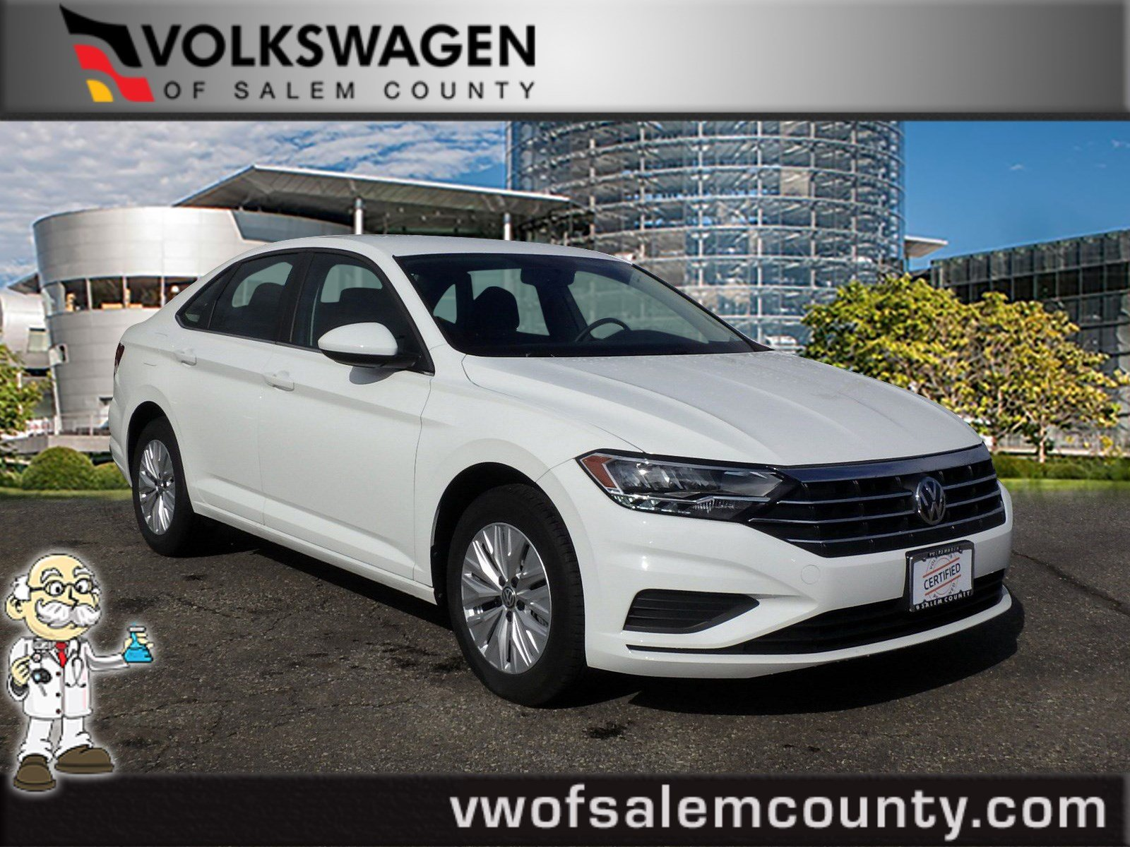 certified pre-owned 2019 volkswagen jetta s 4dr car in monroeville