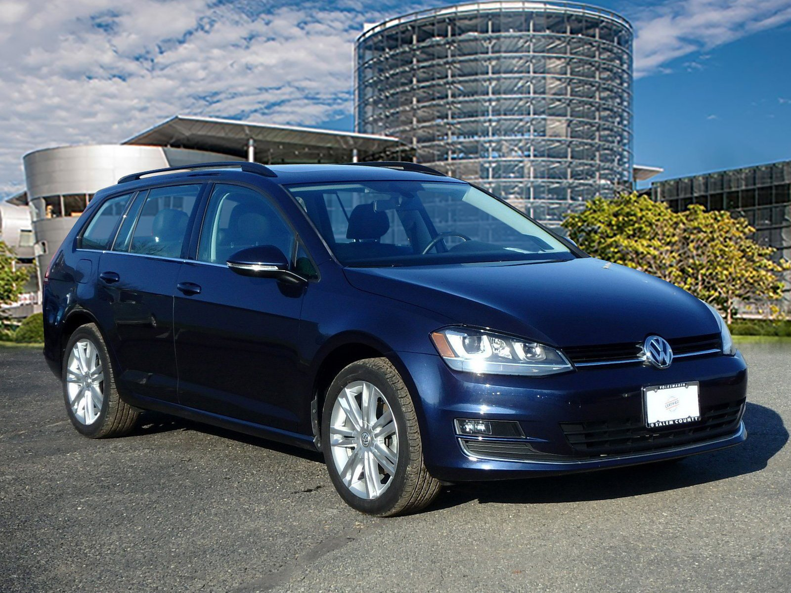Certified Pre-Owned 2015 Volkswagen Golf SportWagen TDI S