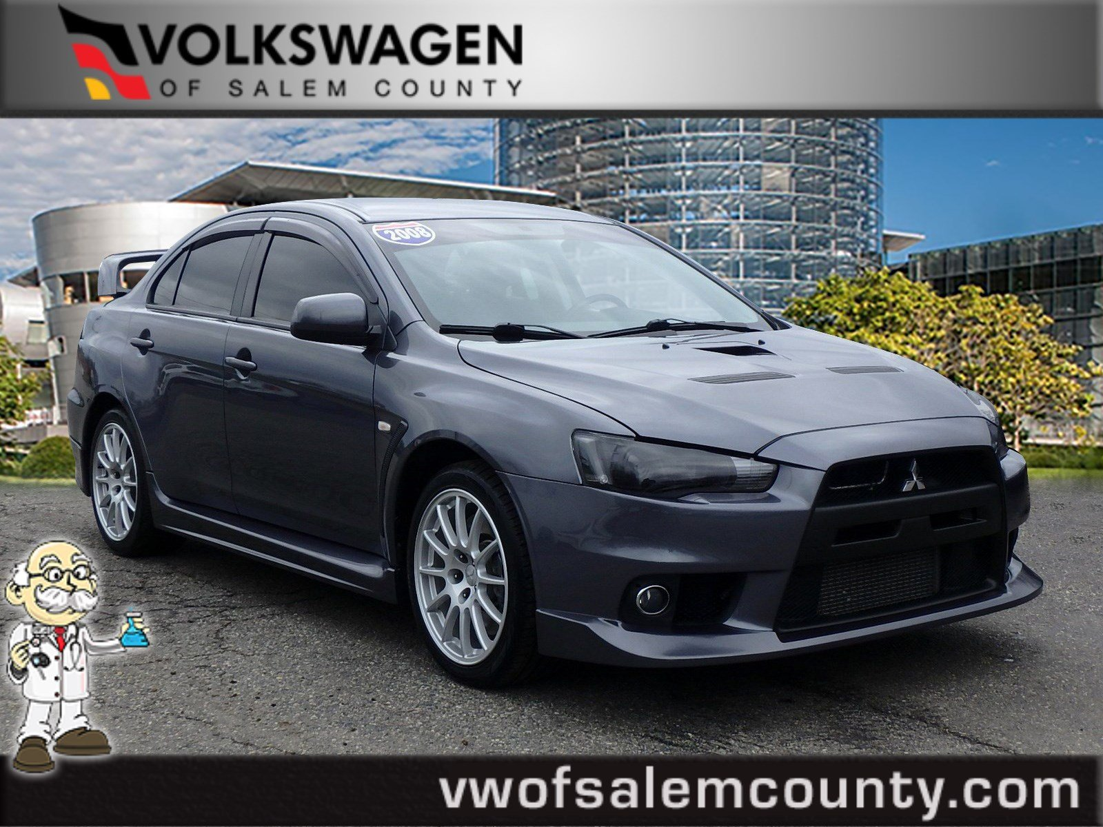 Pre-Owned 2008 Mitsubishi Lancer Evolution GSR