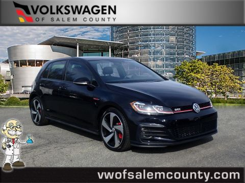 Certified Pre-Owned 2018 Volkswagen Golf GTI SE